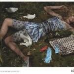Lara Stone Louis Vuitton Campagne