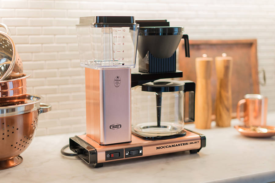 Review Moccamaster KBG Select: filter koffie in een design jasje