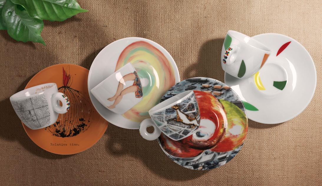 illy kunstzinnige koffiekopjes voor expo 2015