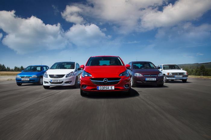 Opel Corsa_generaties