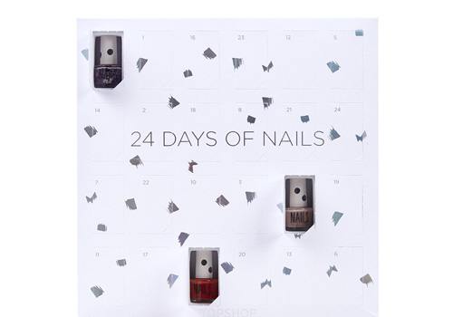 Advent kalender met nagellak