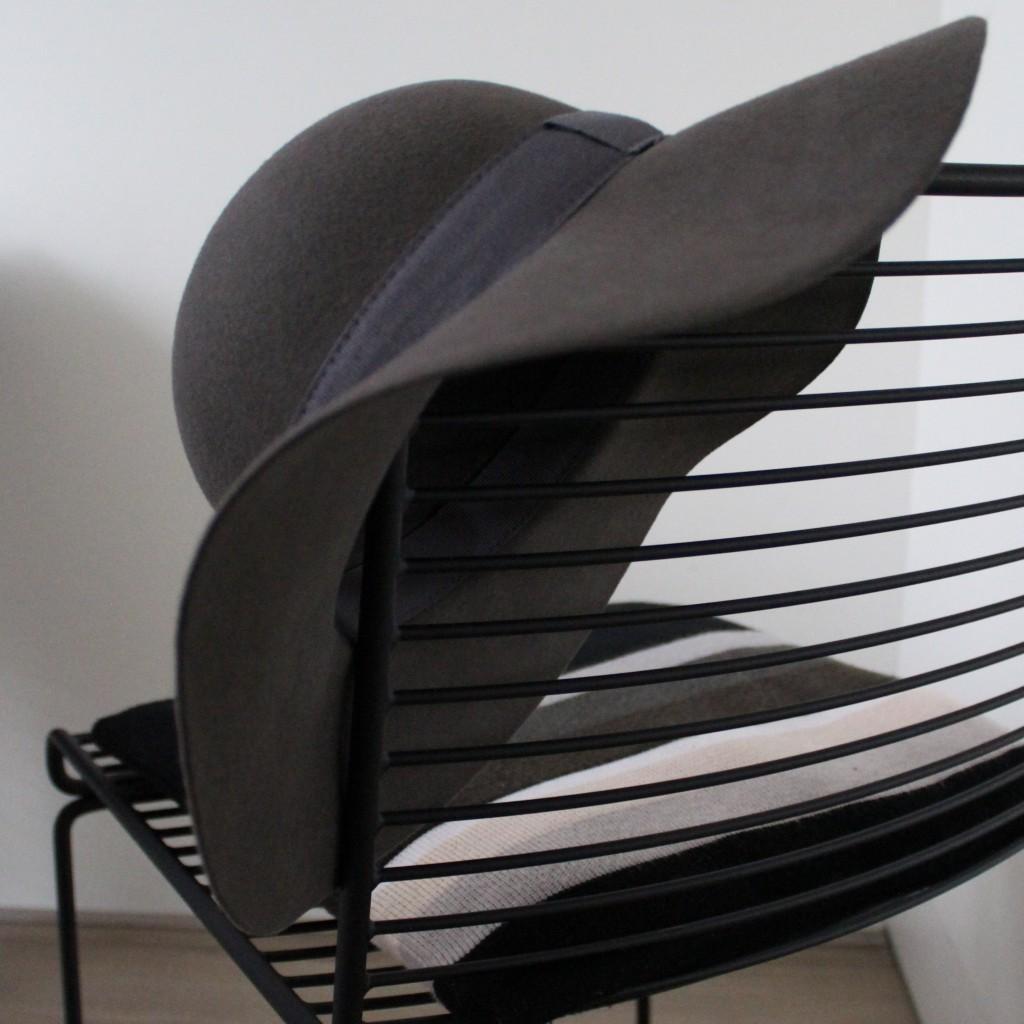 Chapeauholic grijze hoed model Marilyn