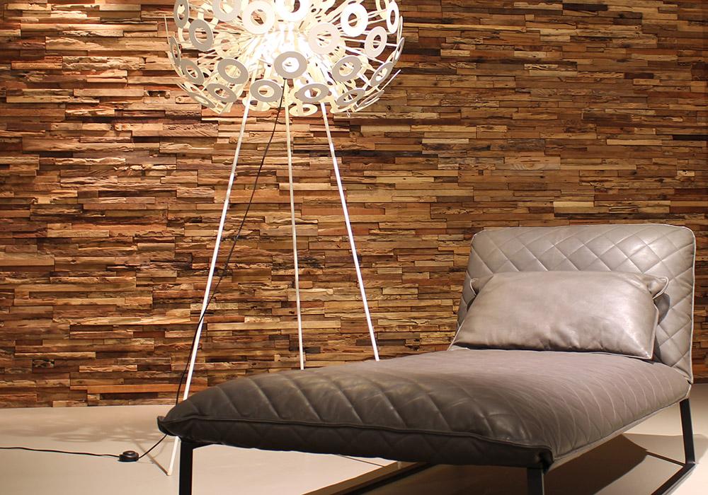 interieur inspiratie houten wandbekleding