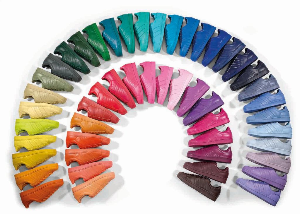 Superstars Supercolor 50 kleuren