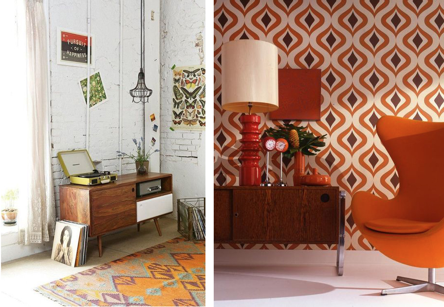 Interieur trend gespot retro seventies look lifestyle blog for Interieur trends 2015