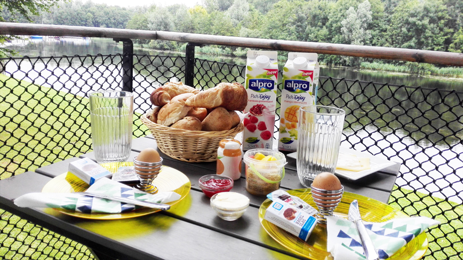 Ontbijt in boomhut - Alpro Soya - Daily Cappuccino - Lifestyle Blog