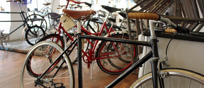 bicycle-in-shop