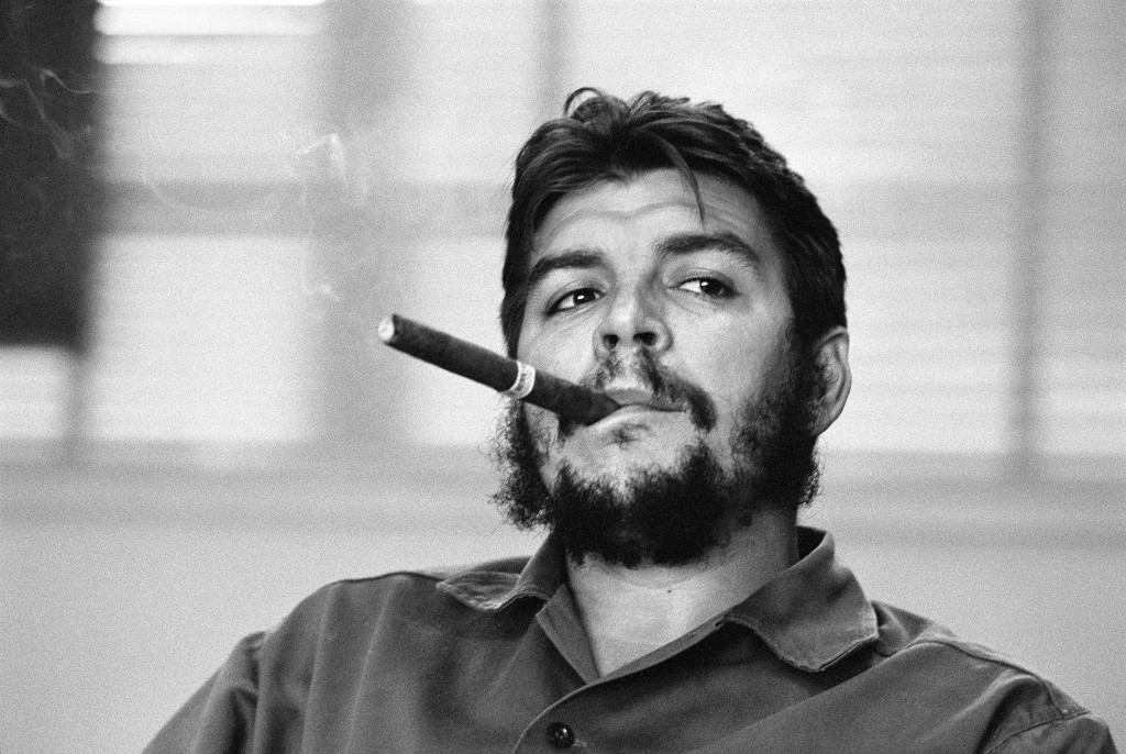 CUBA. Havana. Ministry of Industry.  Ernesto Guevara (Che), Argentinian politician, Minister of industry (1961-1965) during an exclusive interview in his office.