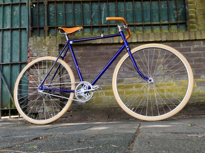 retro fiets custom made - daily cappuccino - lifestyle blog