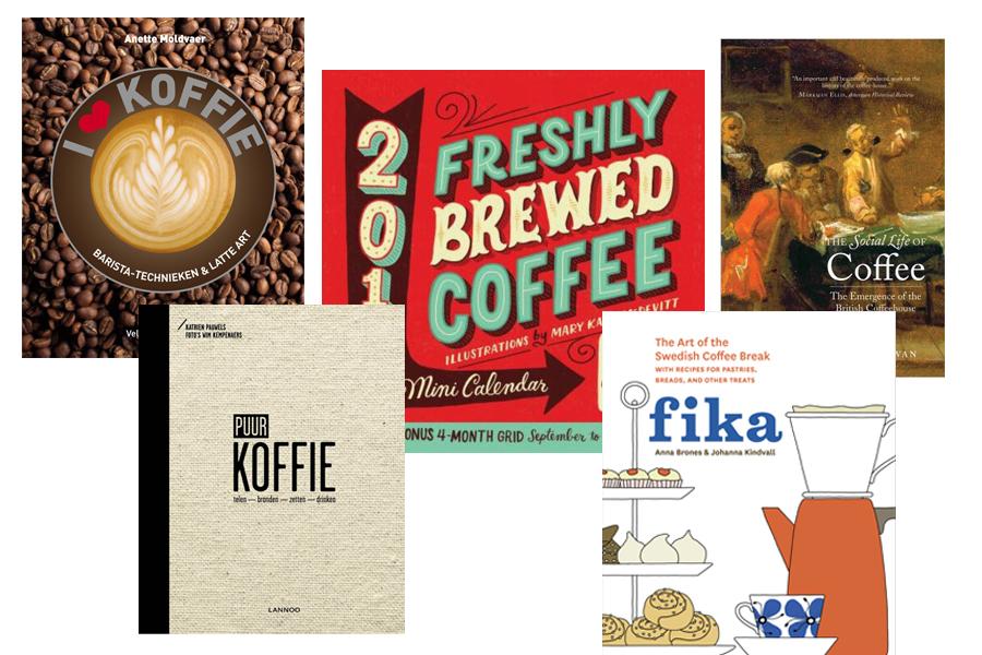 top 5 koffie(tafel)boeken - Daily Cappuccino - Lifestyle Blog
