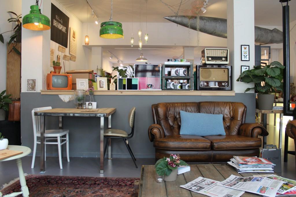 Koffie bij Brandpunt in Breda