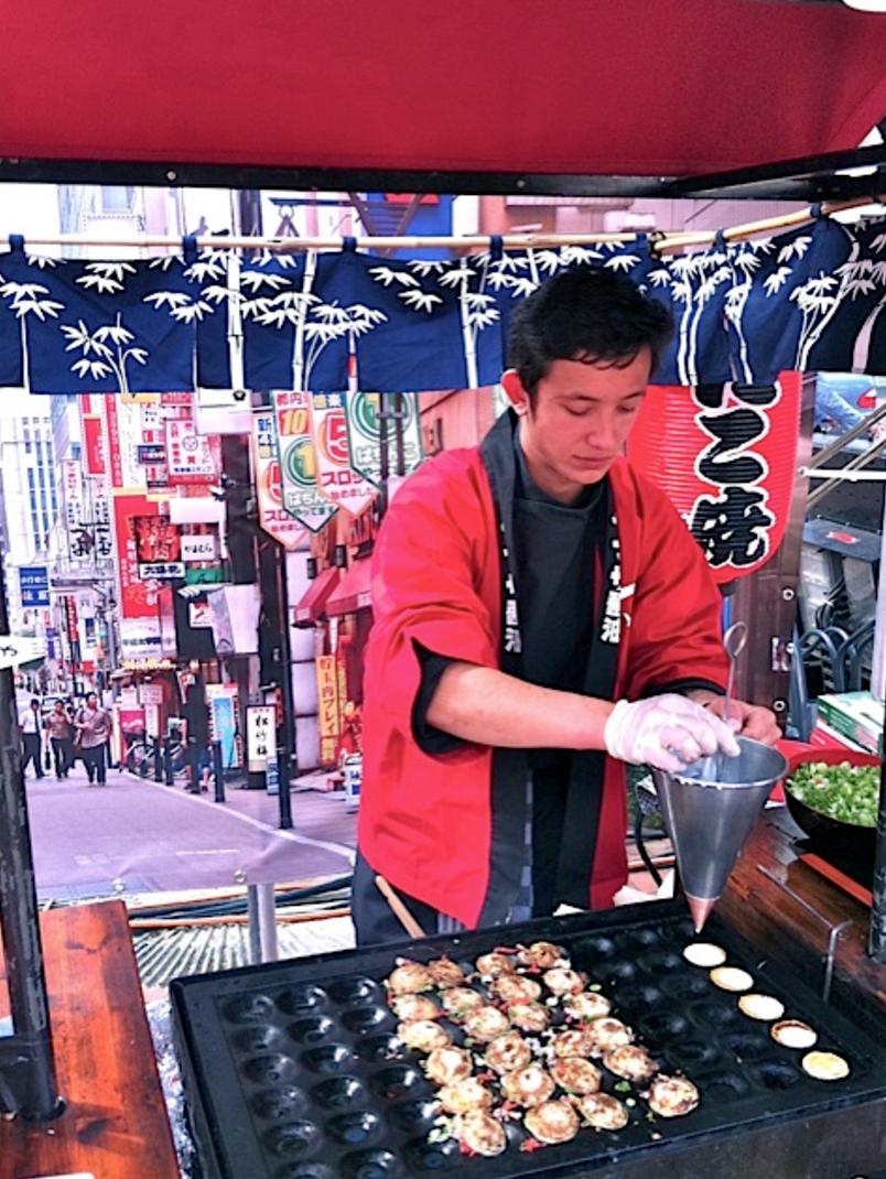 Japanse poffertjes - tako yaki - daily cappuccino - lifestyle blog