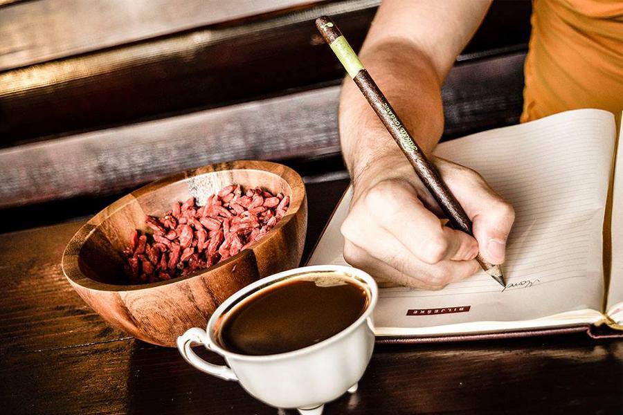 Potlood van koffie Fabula - Daily Cappuccino - Lifestyle Blog