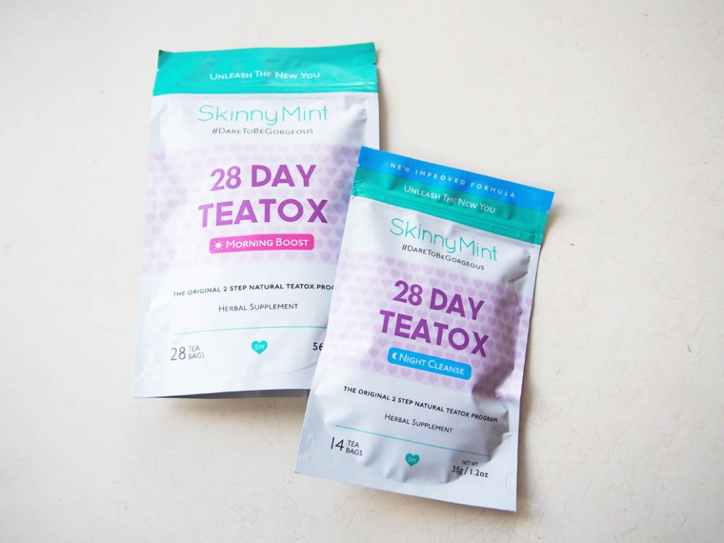 SkinnyMint Tea Detox Challenge - Daily Cappuccino - Lifestyle Blog