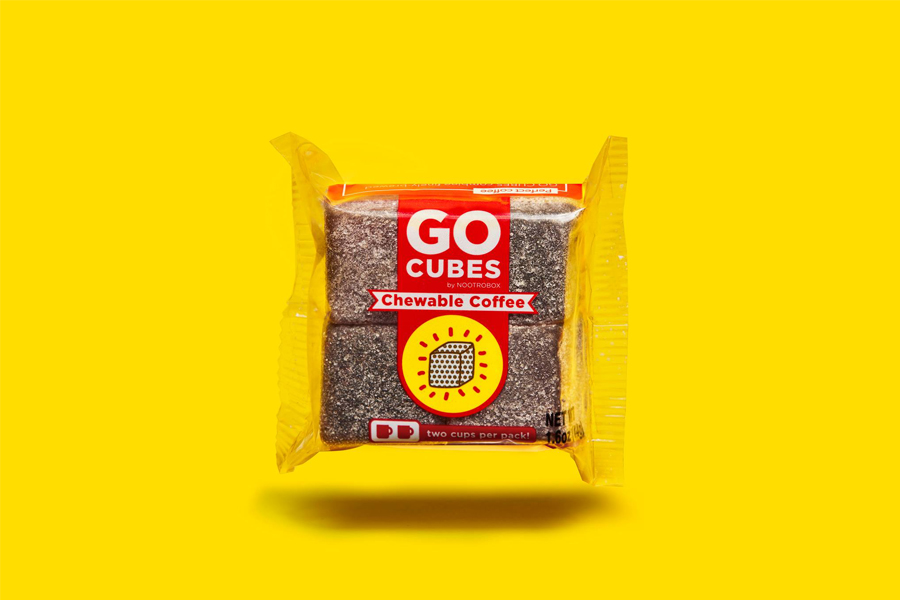 Kauwbare koffie - Go Cubes - Daily Cappuccino - Lifestyle Blog