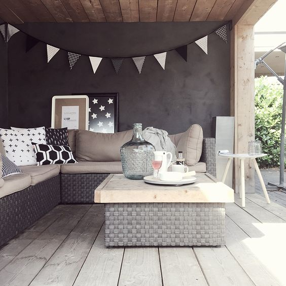 Lounge zomer tuin - Daily Cappuccino - Lifestyle Blog