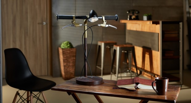 fiets-bureaulamp - Daily Cappuccino - Lifestyle Blog