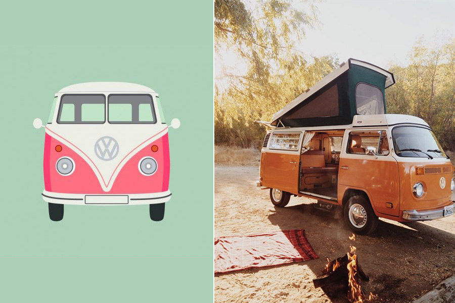 VW bus travel - Daily Cappuccino - Lifestyle Blog