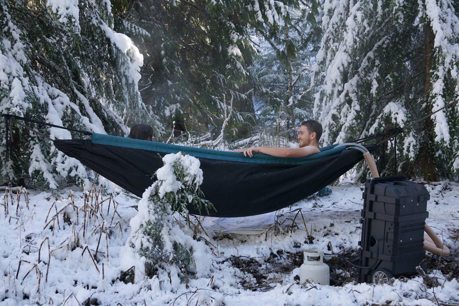 Hangende Hot Tub - Hydro Hammock - Daily Cappuccino - Lifestyle Blog