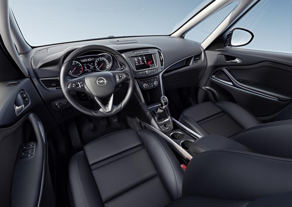 2016 Opel Zafira with Radio R 4.0 IntelliLink