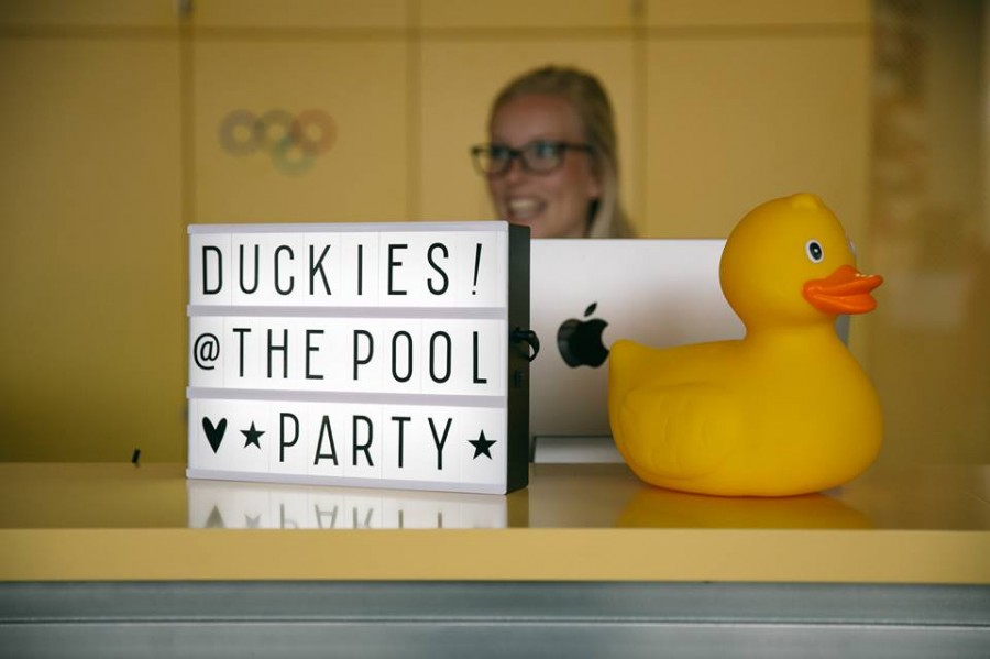 Pool Party in The Student Hotel - Daily Cappuccino - Lifestyle Blog