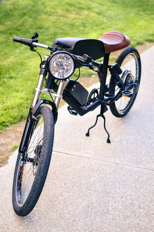 Tempus Electric Bike - Daily Cappuccino - Lifestyle Blog
