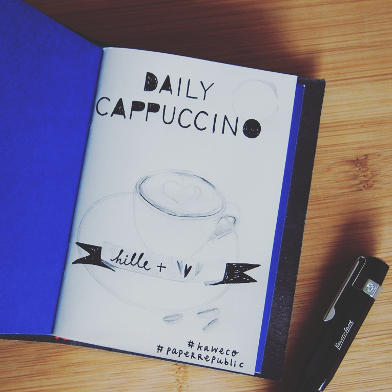 Paper republic - Kaweco - Daily Cappuccino - Lifestyle Blog