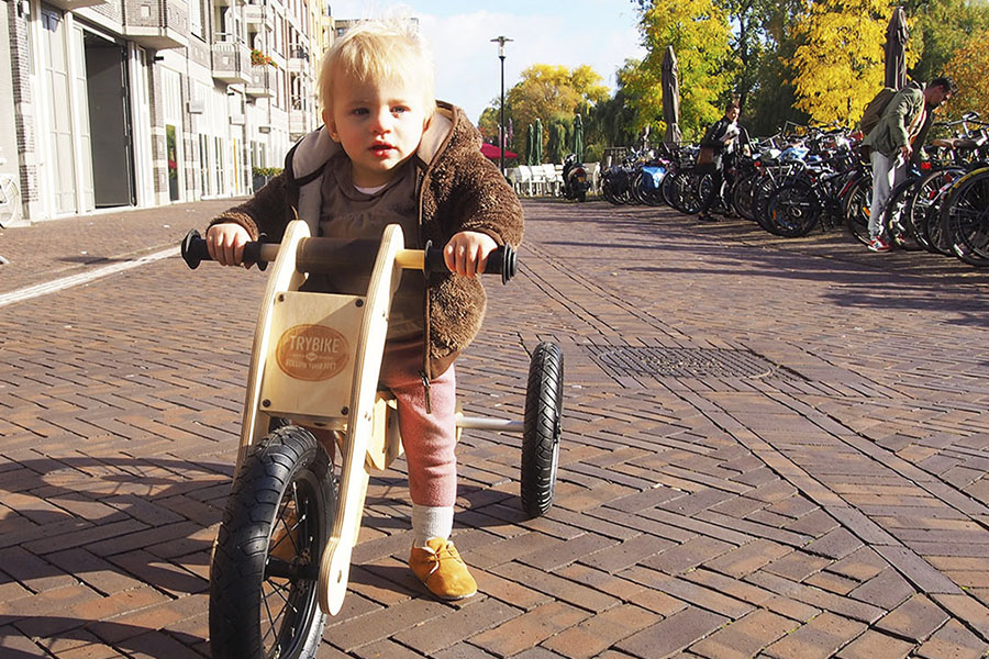 Trybike - Dutch design loopfiets - Daily Cappuccino - Lifestyle Blog