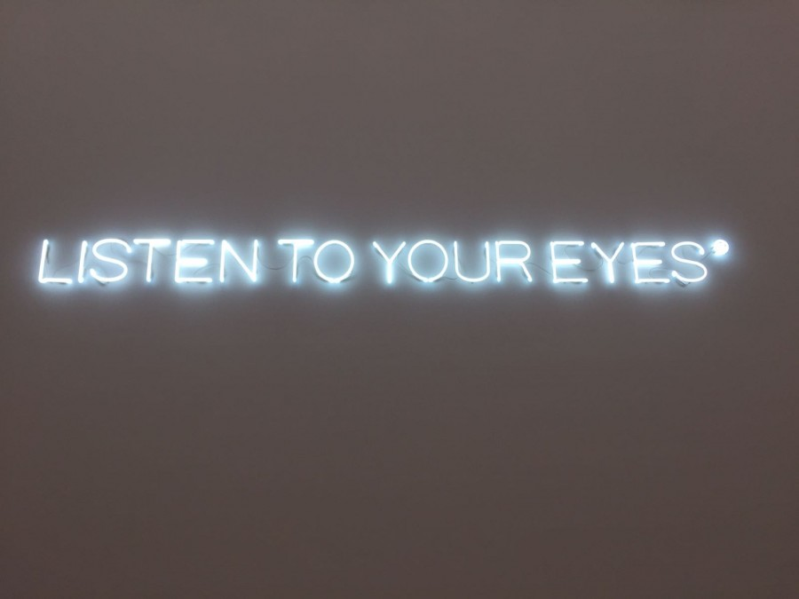 Listen To Your Eyes - Daily Cappuccino - Lifestyle Blog