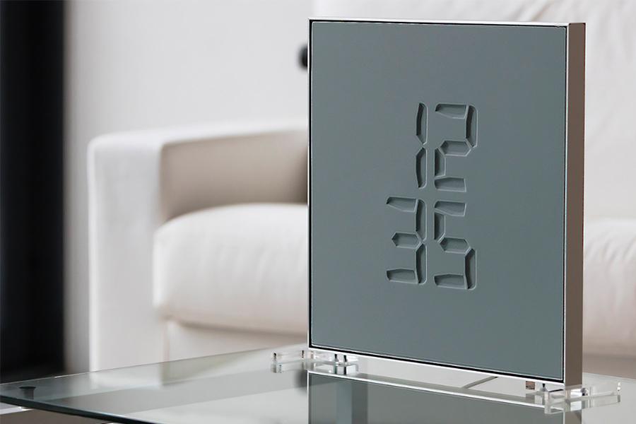 Design klok - Etch Clock - Daily Cappuccino - Lifestyle Blog