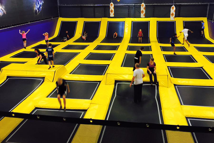 Trampoline springen - Jumpsquare - Daily Cappuccino - Lifestyle Blog