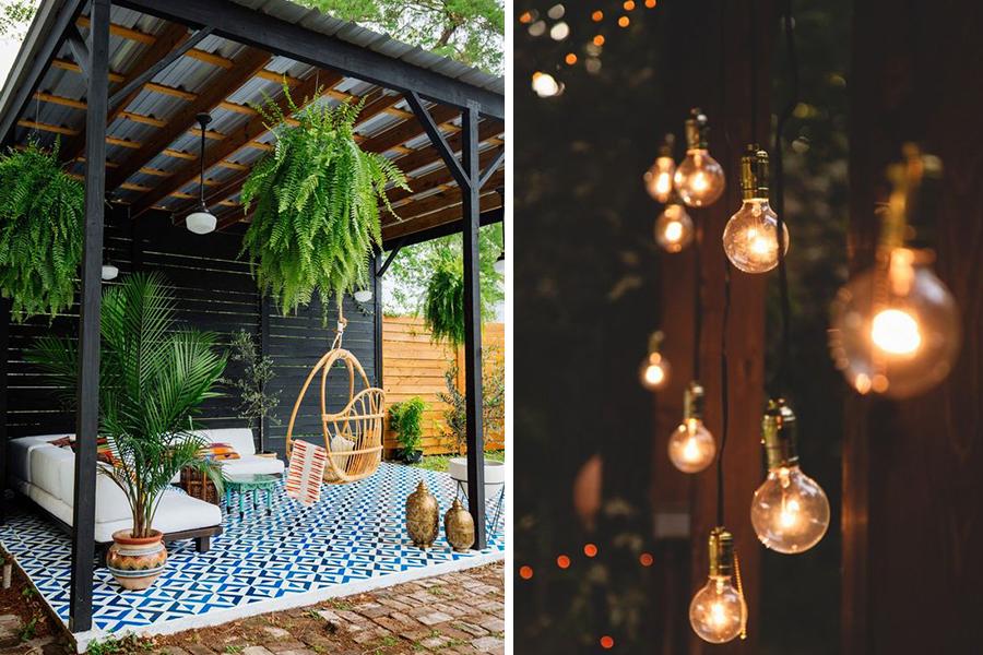 veranda tuin - daily cappuccino - lifestyle blog