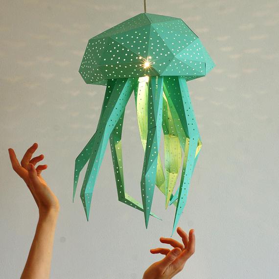 Lichtgevende DIY design 'kwallen' - Studio VasiliLights - Daily Cappuccino - Lifestyle Blog