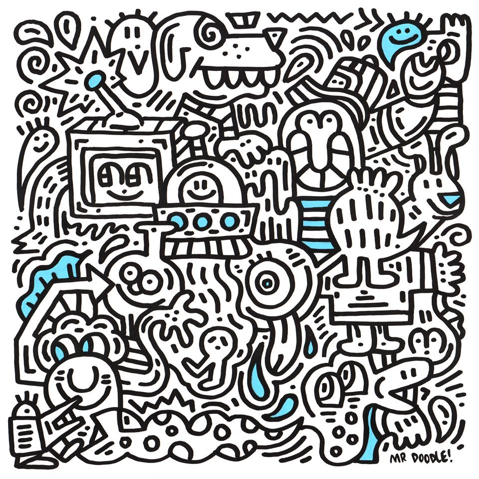 Doodle time met Mr Doodle - Daily Cappuccino - Lifestyle Blog