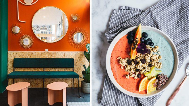In deze pop-up kan je de hele dag gezonde ontbijtjes bestellen - Sunny's Breakfast Bar - Daily Cappuccino - Lifestyle Blog