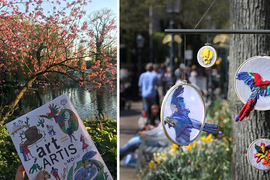 Kunst (en dieren) spotten bij Artis - Daily Cappuccino - Lifestyle Blog