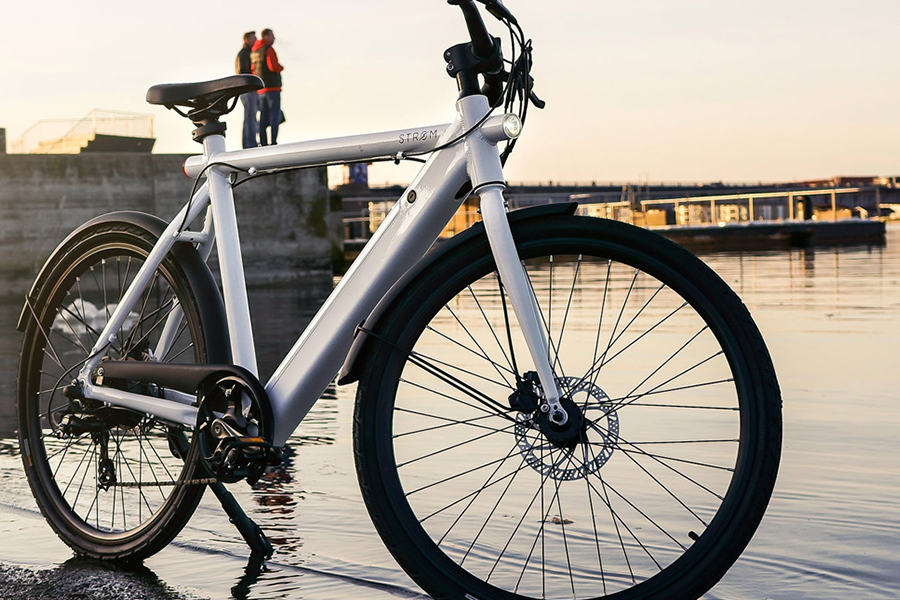 STRØM city e-bike - Daily Cappuccino - Lifestyle Blog