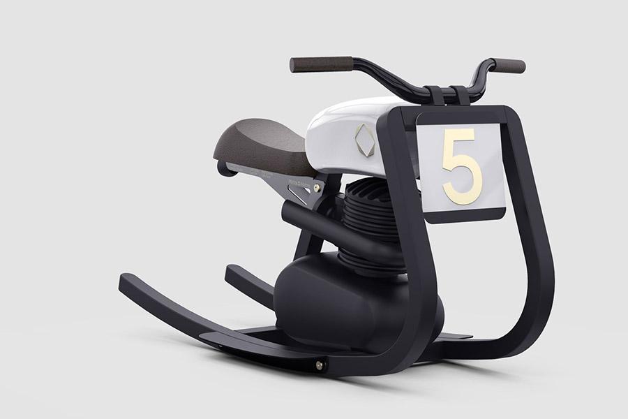 Moto Monza Little Rocker - 'Hobbelpaard' met meer dan één pk - Daily Cappuccino - Lifestyle Blog