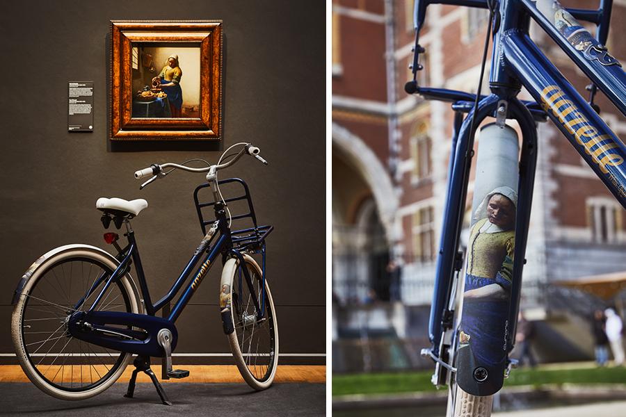 Fietsen op een 'echte' Rembrandt of Vermeer - Gazelle X Rijksmuseum - Daily Cappuccino - Lifestyle Blog