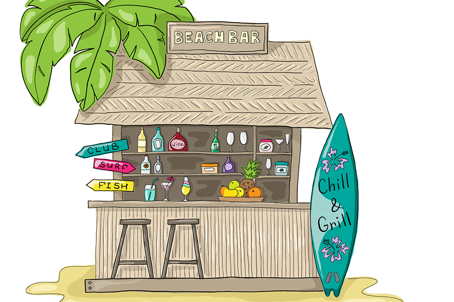 7 x hotspots in het zand - Strandtent editie 2018 - Daily Cappuccino - Lifestyle Blog