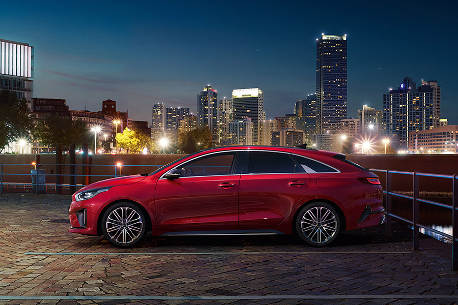 Oh my, de nieuwe Kia ProCeed, tough beauty