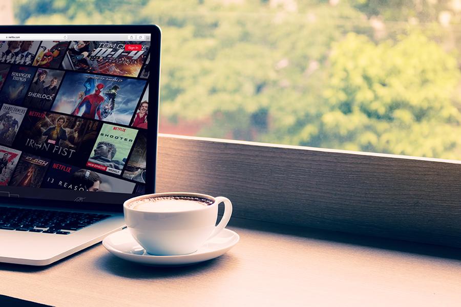 Ons online leven - Netflix kijken
