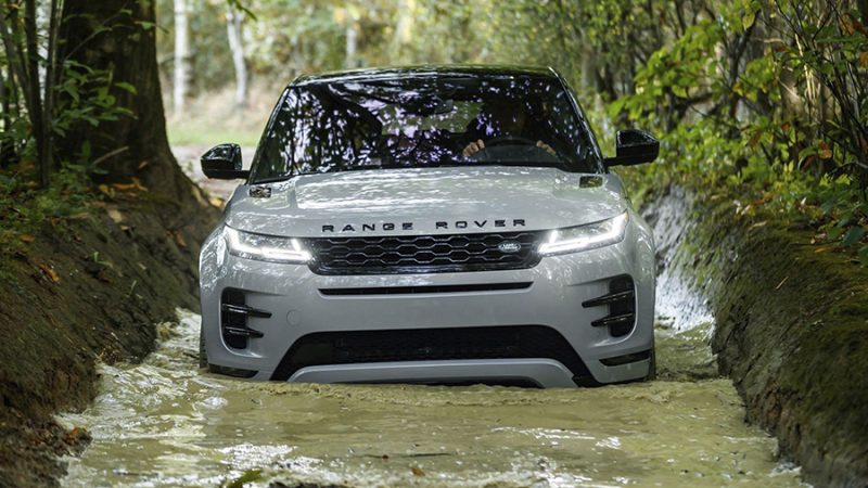 Land Rover Experience: één groot off-the-road feest