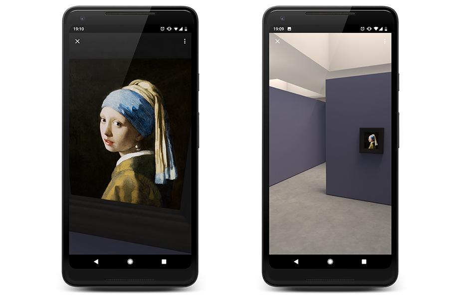 Google meets Vermeer