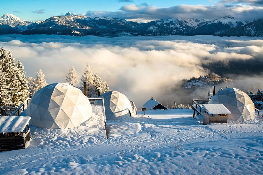 5 x bijzonder overnachten tijdens je wintersport