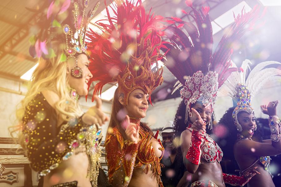 5 x carnaval vieren over de hele wereld