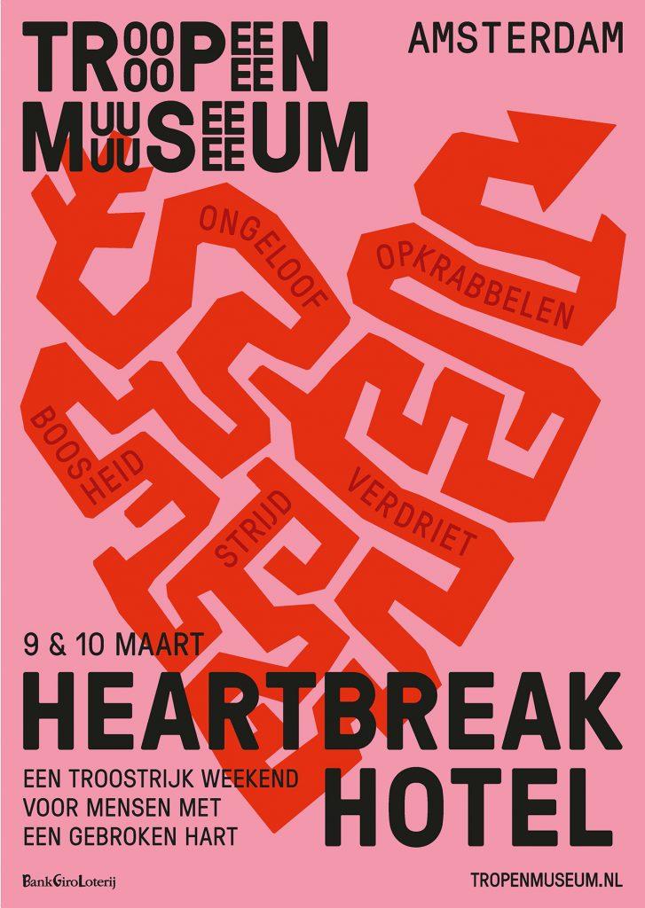 Gebroken hart? Ga dan naar het Heartbreak Hotel!