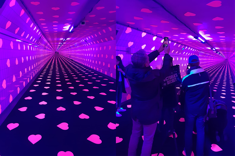 Bijzonder Valentijn: Tunnel of Love in Rotterdam