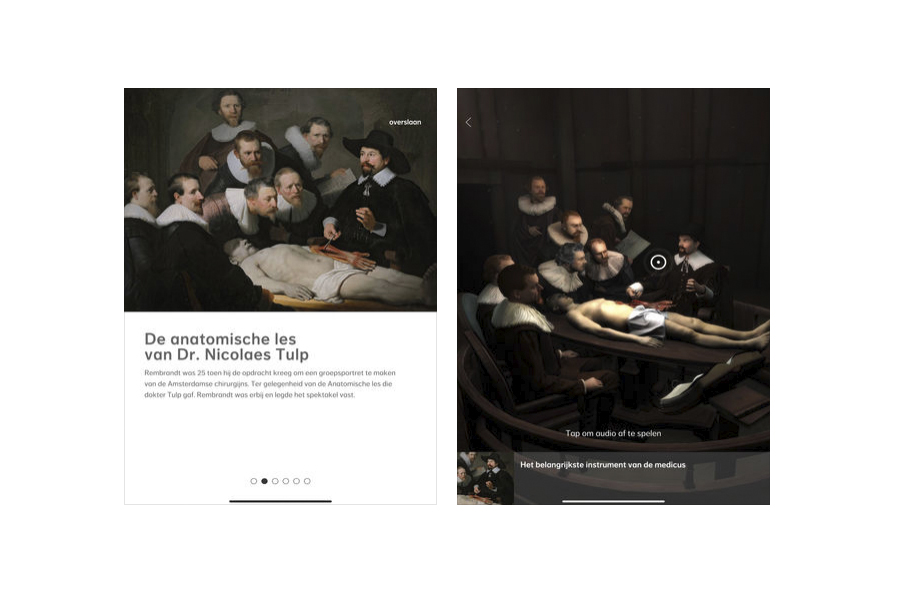 Augmented Reality meets Rembrandt