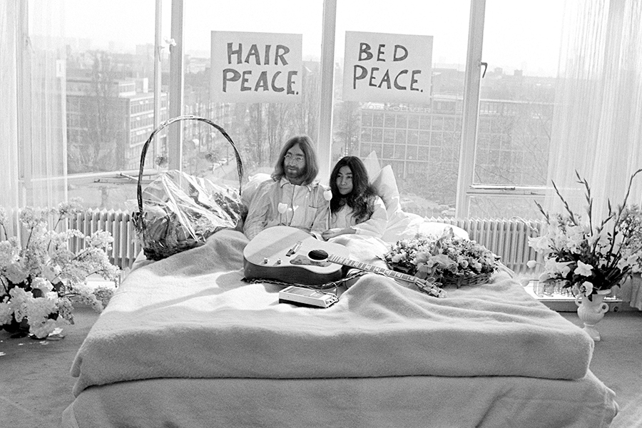 50 jaar Bed-in for Peace met John Lennon en Yoko Ono